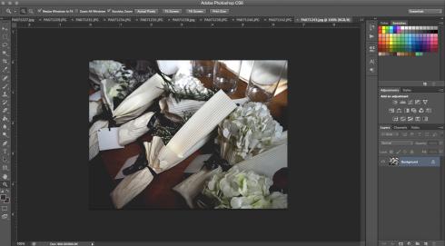 Photoshop editing images