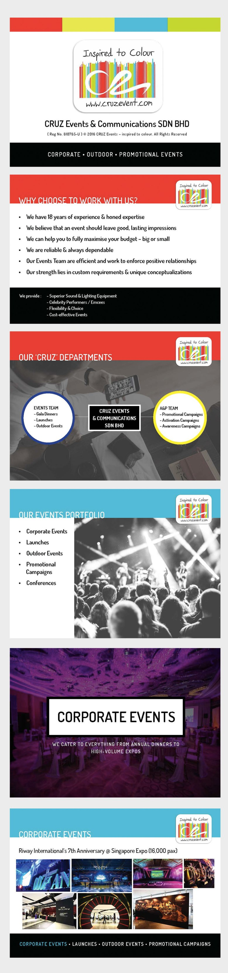 CRUZ events -after