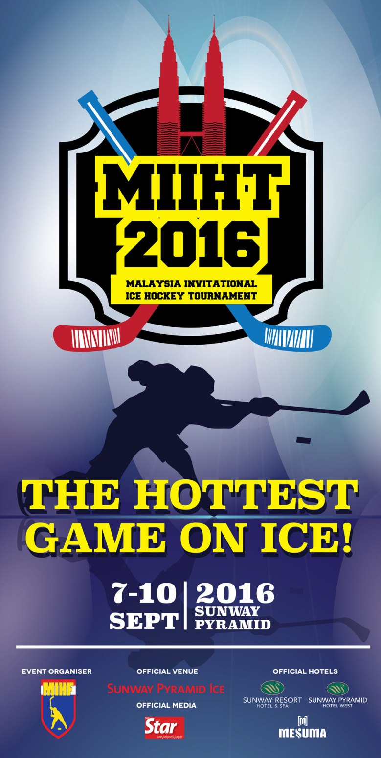 Malaysia Invitational Ice Hockey Tournament 2016 MIIHT