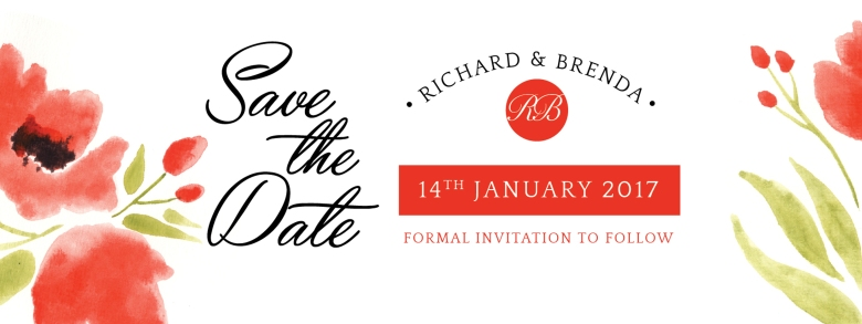 Richard and Brenda wedding design
